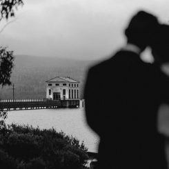 Pumphouse Point Wedding photographed by Glass Slipper Photography